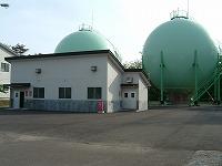 柿崎ガス供給所の写真