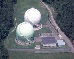春日山ガス供給所の写真