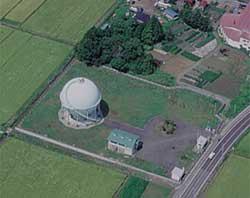 南部ガス供給所の写真
