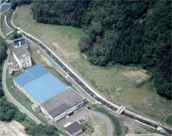 城山浄水場の写真