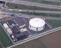 和田浄水場の写真